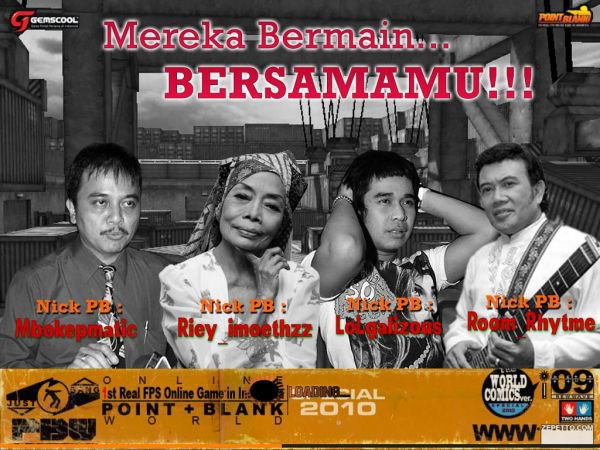 wallpaper point blank lucu. point blank indonesia lucu.